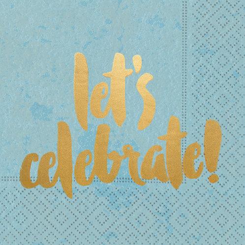 #10104 Let's Celebrate! Napkins