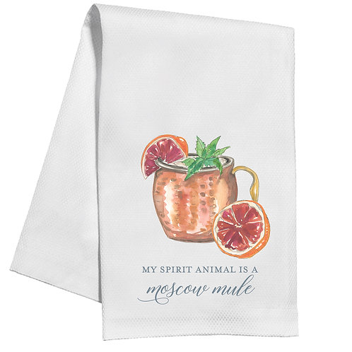 #10143 Spirit Animal Tea Towel