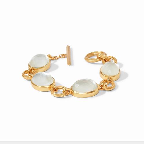 #9188 Barcelona Bracelet - Iridescent Clear Crystal