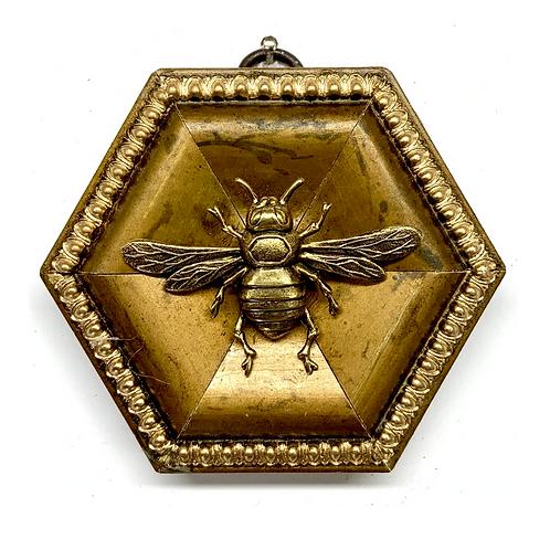 #9878 Gilt Frame with Italian Bee