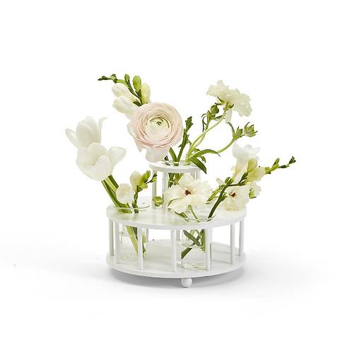 #11665 Colonnade 2-Tier Floral Arranger