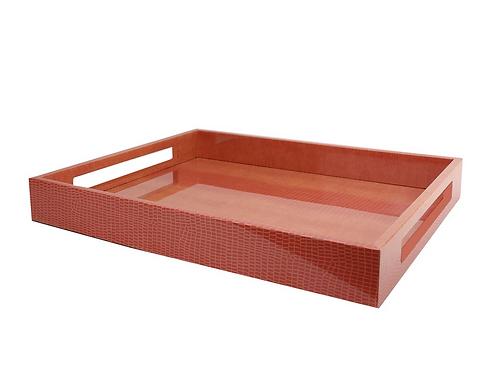 #12342 Orange Croc Tray