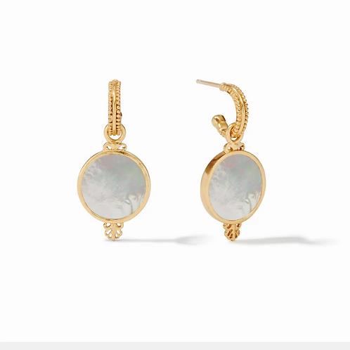 #11959 Meridian Hoop & Charm Earring
