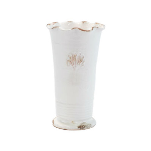 #8238 Medium Scallop Emblum Ruffle Vase