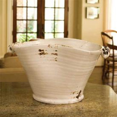 #2353 Large white beverage tub
