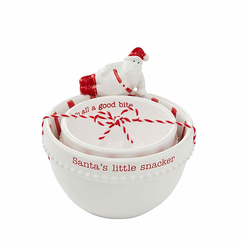 #10691 Santa Nesting Bowls