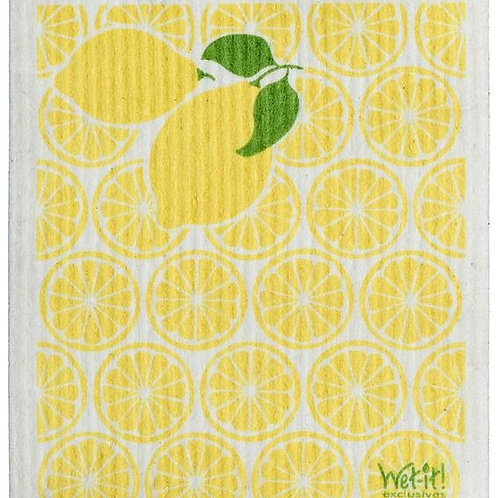 #9948 Lemon Swedish Dishcloth