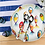 Thumbnail: #9957 Pesci Colorati Shallow Bowl
