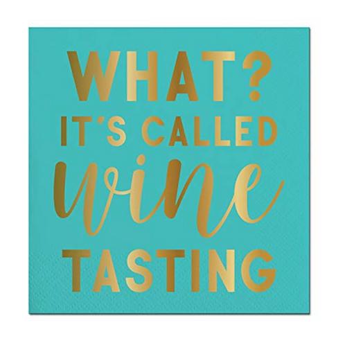 #11798 Wine Tasting Napkin