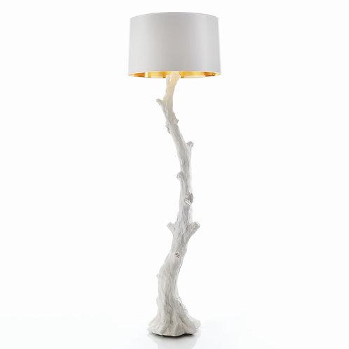 #8673 Faux Bois Floor Lamp