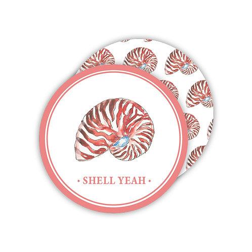 #11775 Shell Yeah Nautilus Coaster