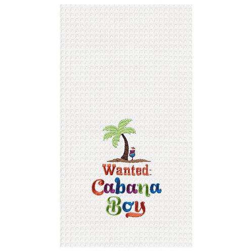#10785 Wanted: Cabana Boy Towel