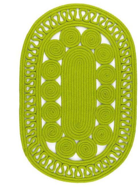#12088 Reef Rug (Green)