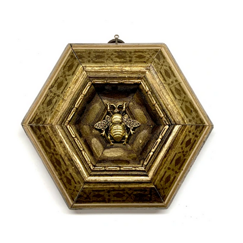 #10649 Gilt Frame w/Grande Bee