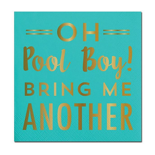 #10011 Oh Pool Boy Cocktail Napkins