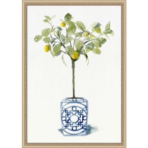 #11033 Lemon Tree Chinoiserie