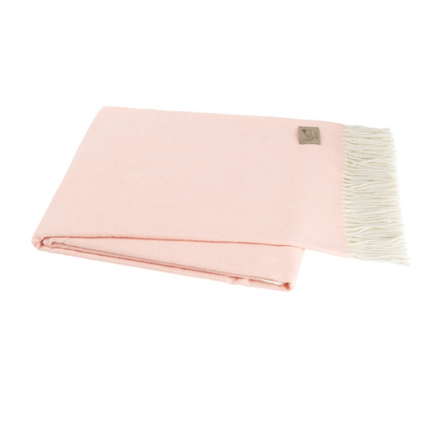 #9940 Blush Italian Throw