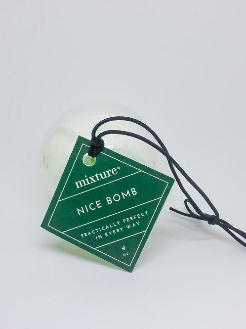 #8338 Nice Bath Bomb Ornament