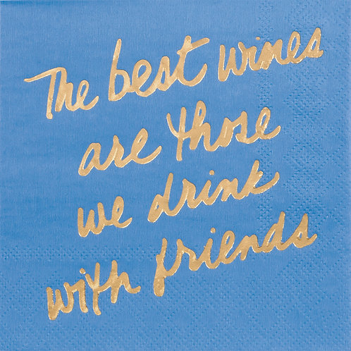 #10105 Drink with Friends Napkins