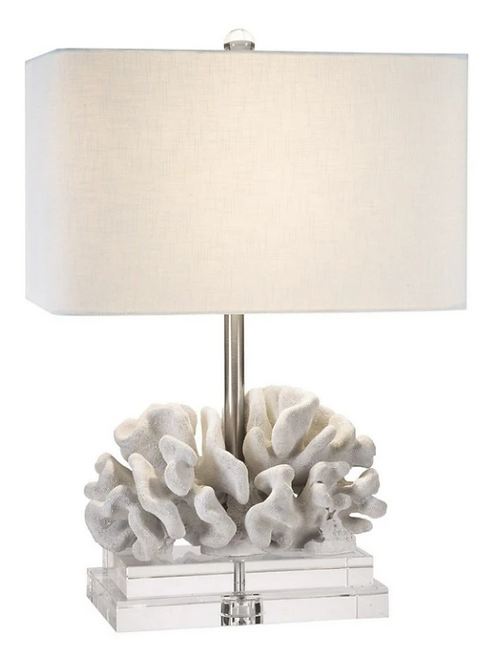 #11383 Coral Table Lamp