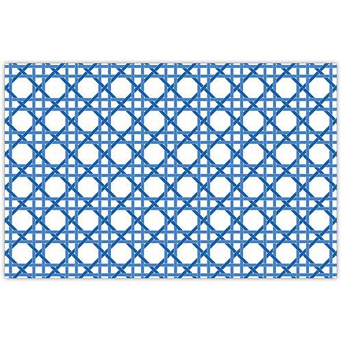 #11787 Blue Weave Placemats