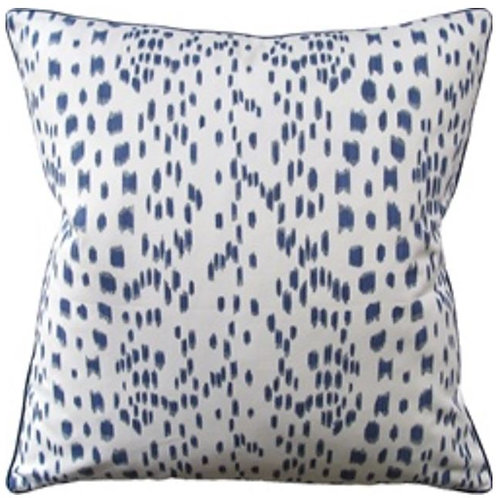 Les Touches Pillow-Blue