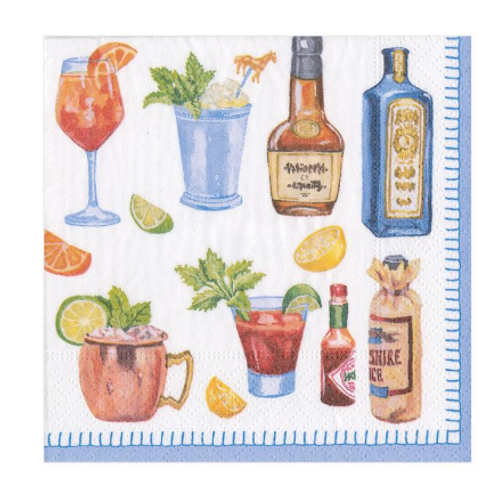 #9116 Cocktail Napkins (Happy Hour)