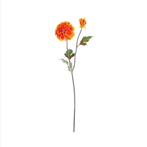 #10488 Dahlia Stems Set of 3, Orange