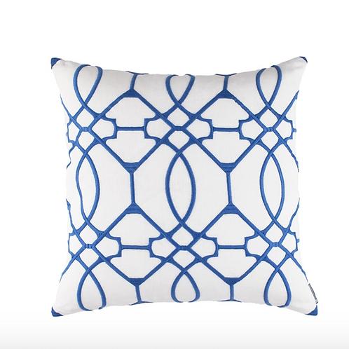 #12163 Vermillion Embroidery Pillow