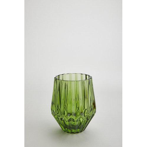 #11049 Optic Votive, Pair (Green)