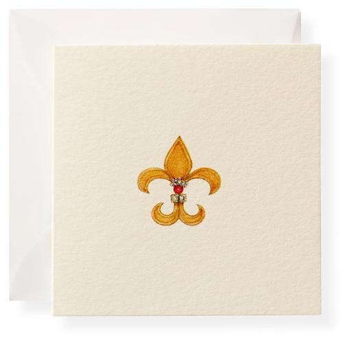 #8346 Fleur De Lis Gift Enclosure