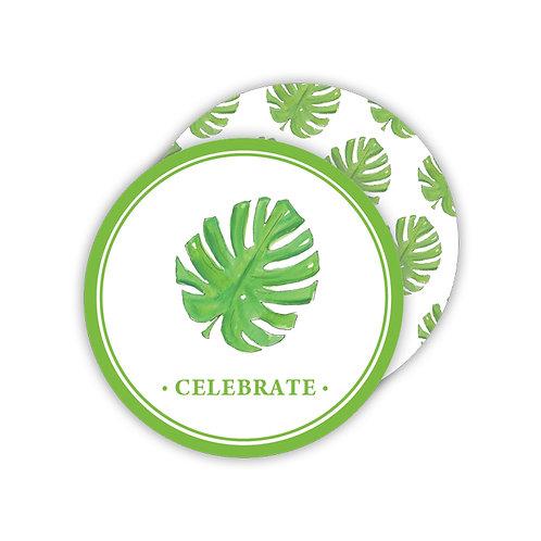 #11773 Celebrate Palm Leaf Coasters