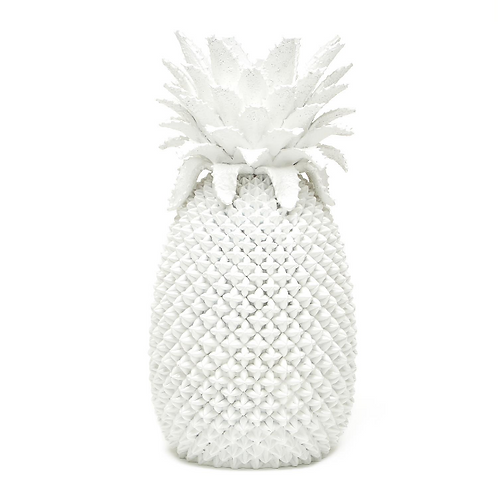 #10850 White Pineapple Vase