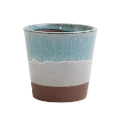 #9987 Garden Ombre Cachepot (Small Mint)