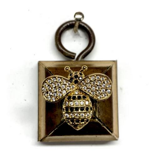 #10631 Gilt Frame w/Sparkle Bee