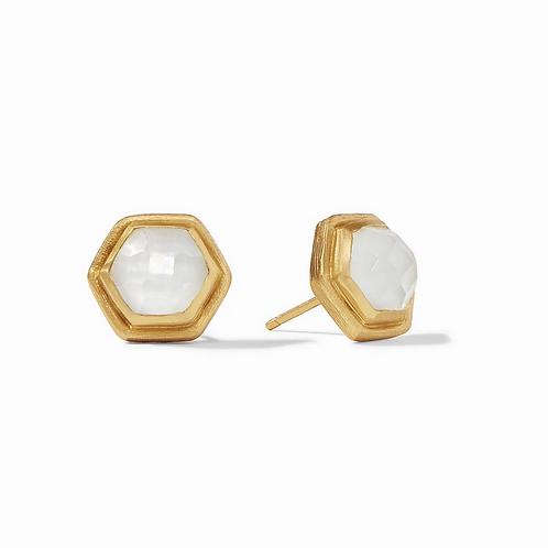 #11947 Palladio Stud (Clear Crystal)