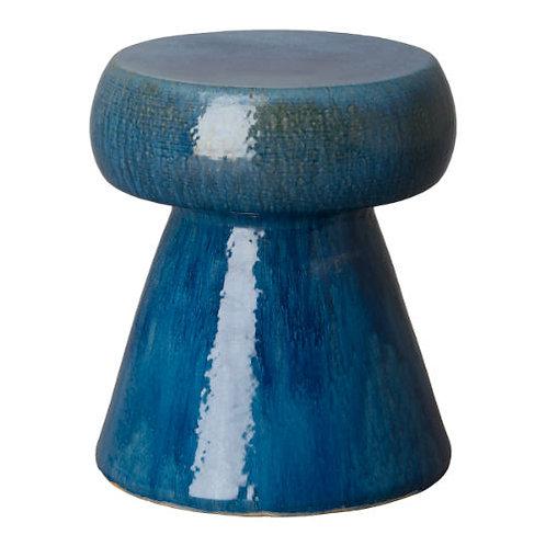 Porcelian Portabello Stool