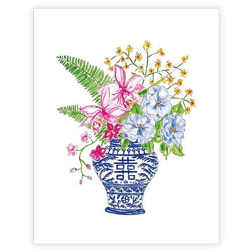 #11102 Floral Arrangement Art Print