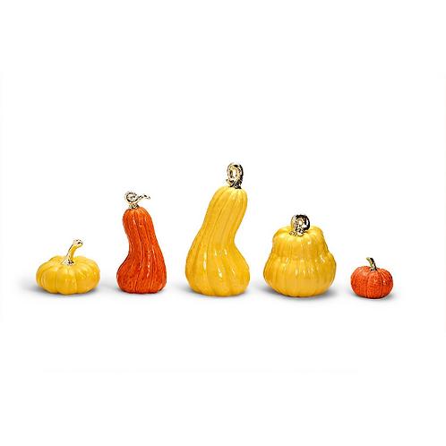 Gold Stemmed Pumpkin