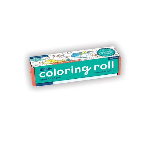 #9830 Under the Sea Mini Coloring Roll