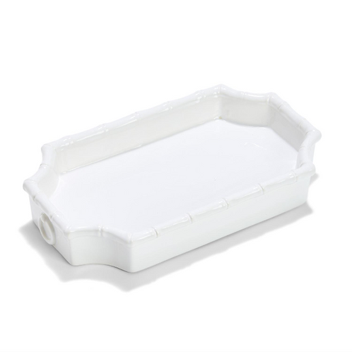 #10075 Faux Bamboo Fretwork Tray
