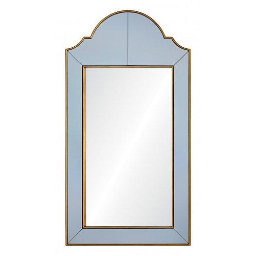 #6316 Gold & Grey Framed Mirror