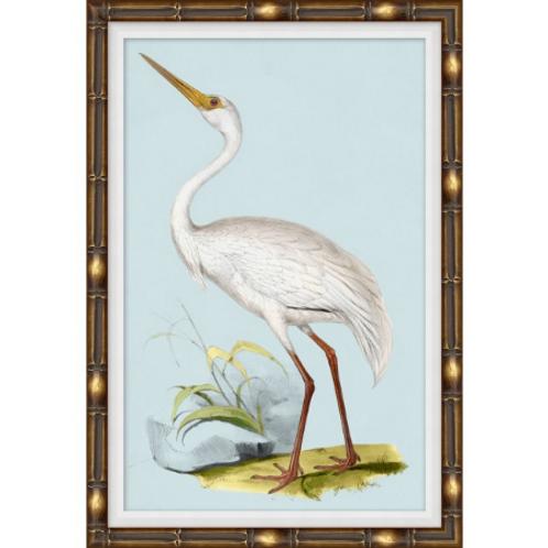 #11031 Heron on Blue 4