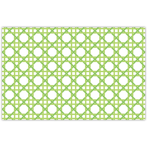 #11786 Lime Weave Placemats