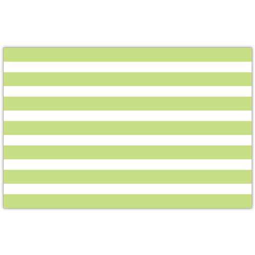 #10157 Lime Cabana Stripe Placemats