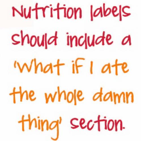 #9796 Nutrition Labels Tea Towel
