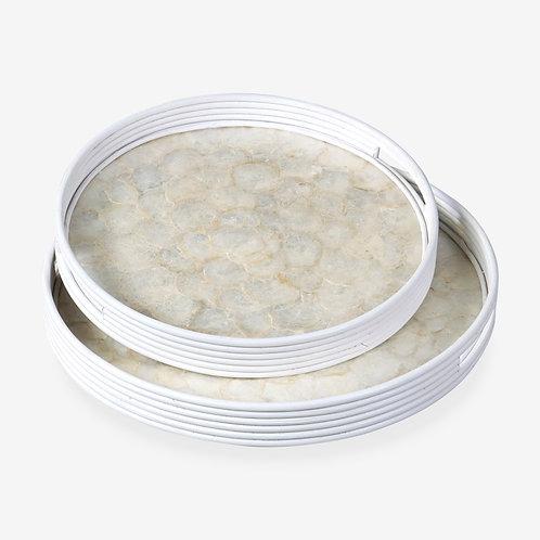 #12167 Captiva Round Tray (Large)