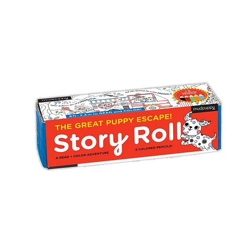 #9828 Puppy Story Roll