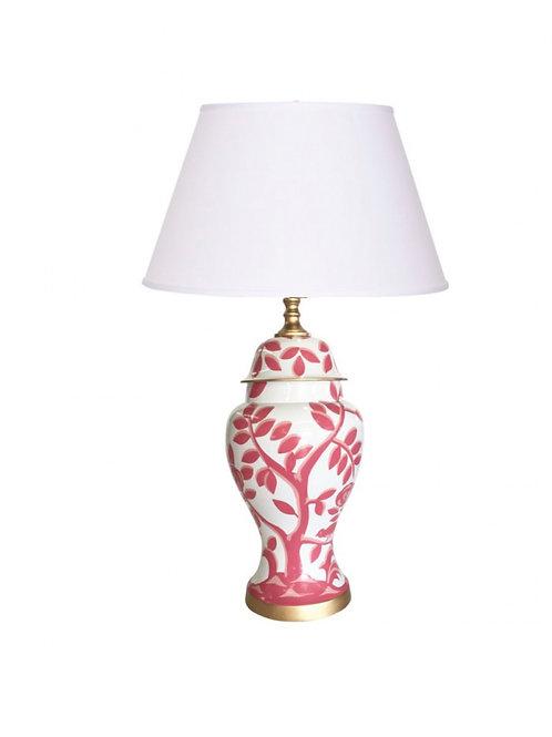 #8714 Pink Cliveden Lamp