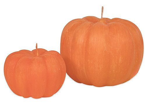 Orange Pumpkin Candle